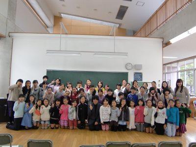 最後にジュニアクラス・シニアクラスとともに記念写真!