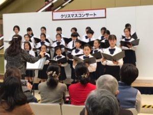 2019年、千葉そごうクリスマスコンサートにて1